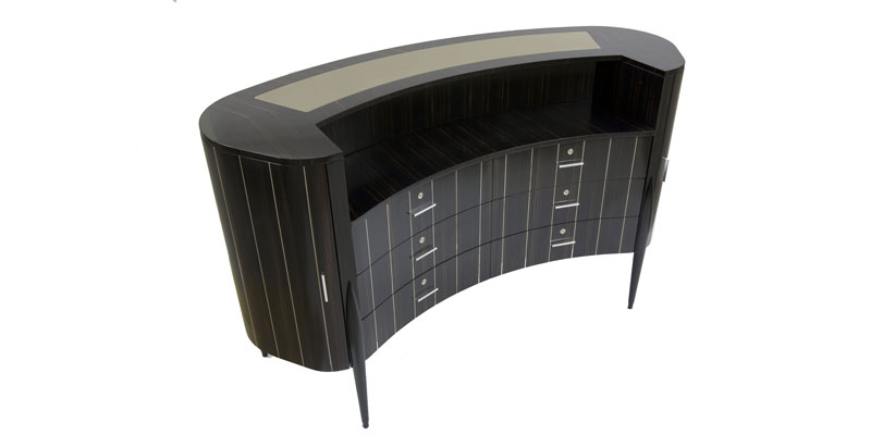 "Curved chest of drawers ""Ginevra"" Faar-FabbroArredi 2: top"
